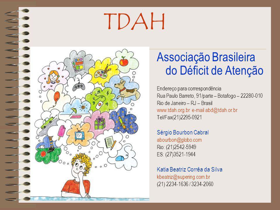 TDAH Associação Brasileira do Déficit de Atenção Sérgio Bourbon Cabral