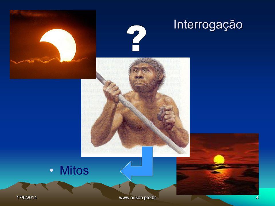 Interrogação Mitos 02/04/2017 www.nilson.pro.br