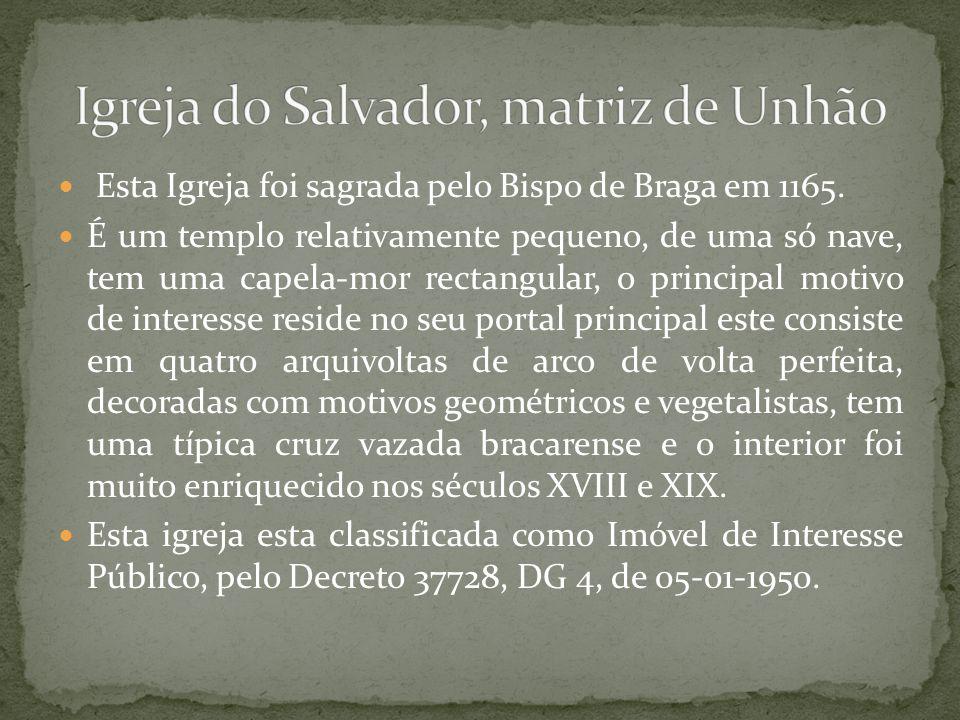 Igreja do Salvador, matriz de Unhão