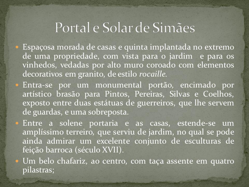Portal e Solar de Simães