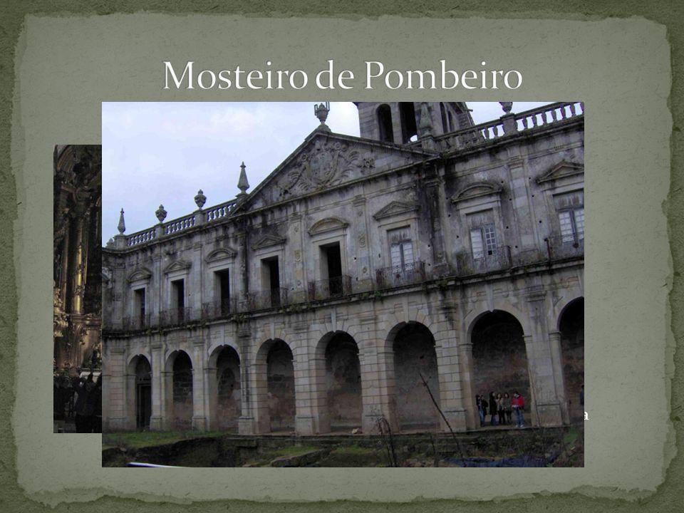 Mosteiro de Pombeiro Capela-mor em talha dourada