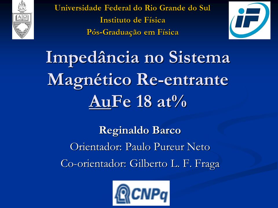Imped ncia no sistema magn tico re entrante aufe 18 at for Sistema anticalcare magnetico