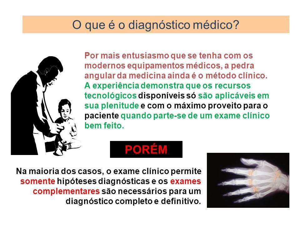 O que é o diagnóstico médico