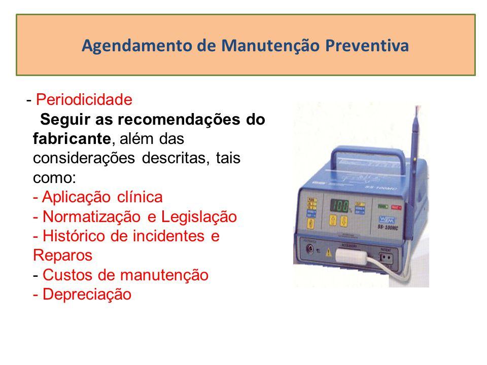 Agendamento de Manutenção Preventiva
