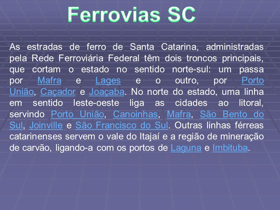 Ferrovias SC