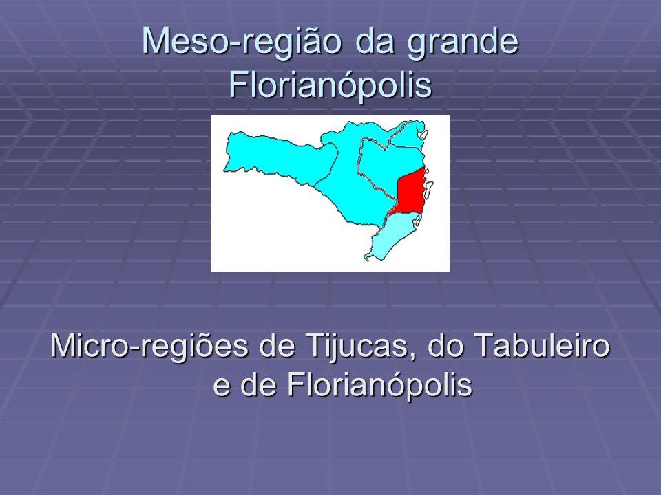 Meso-região da grande Florianópolis