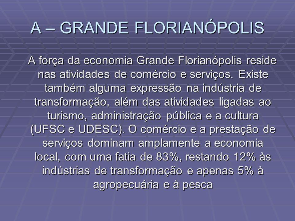 A – GRANDE FLORIANÓPOLIS