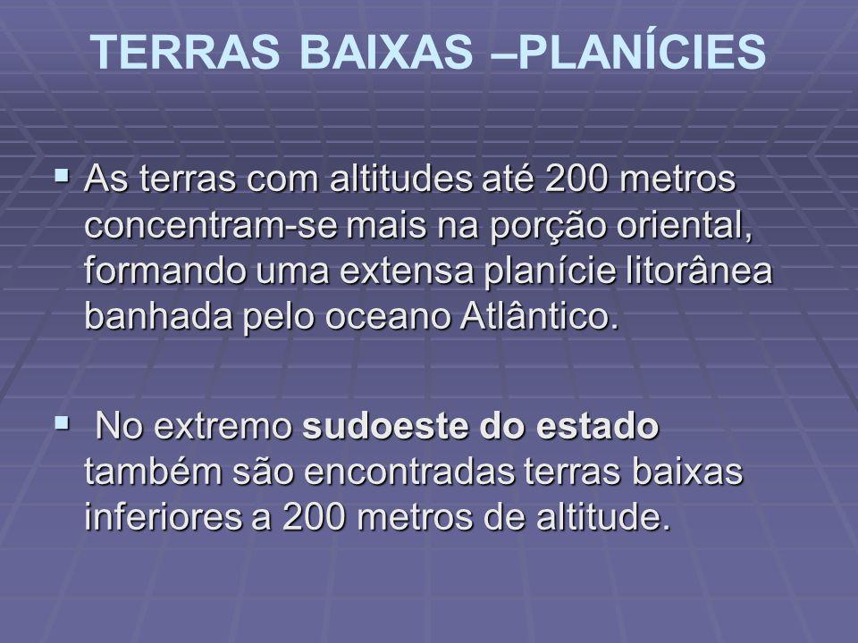 TERRAS BAIXAS –PLANÍCIES
