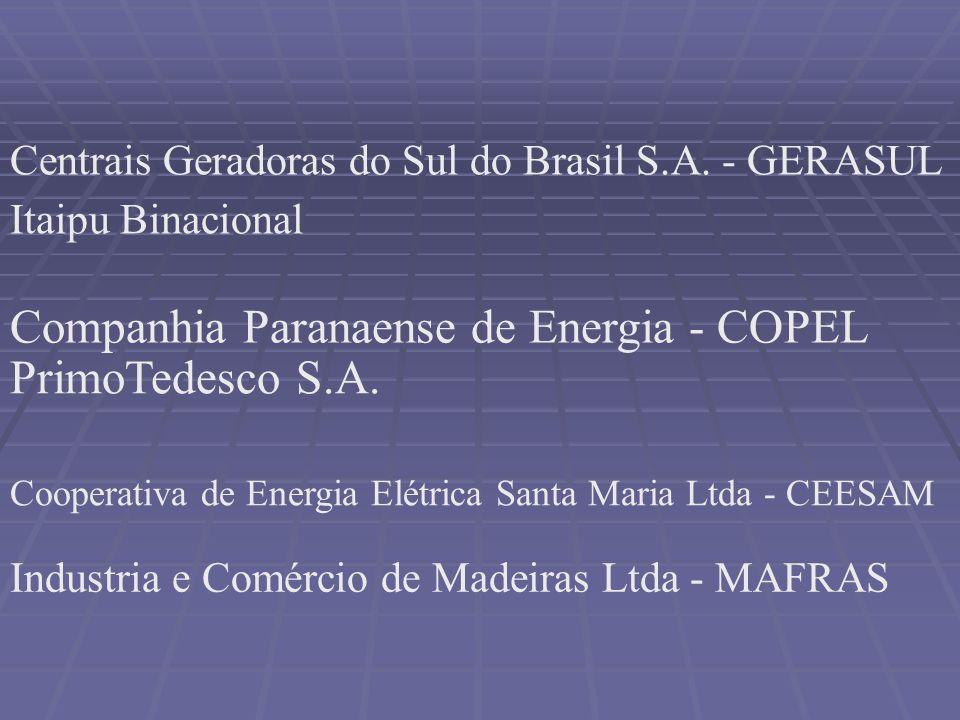 Companhia Paranaense de Energia - COPEL PrimoTedesco S.A.