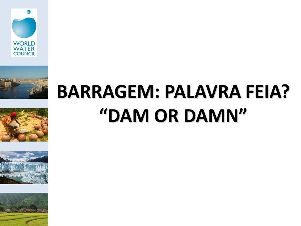 BARRAGEM: PALAVRA FEIA