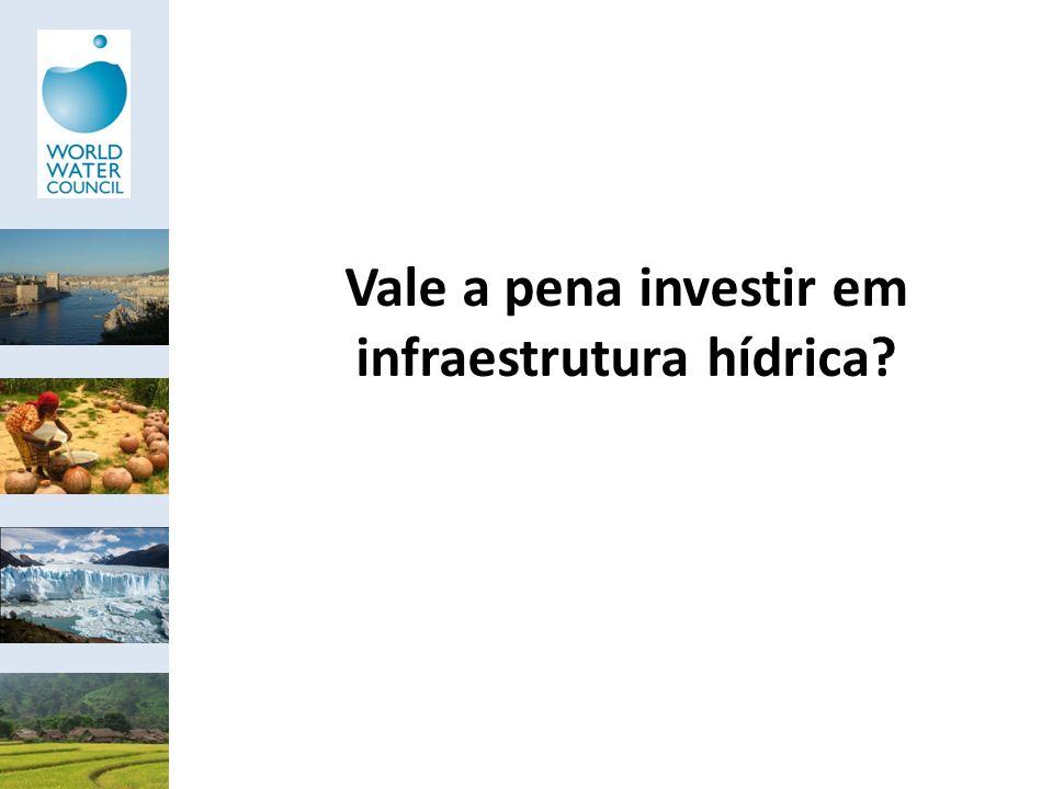 Vale a pena investir em infraestrutura hídrica