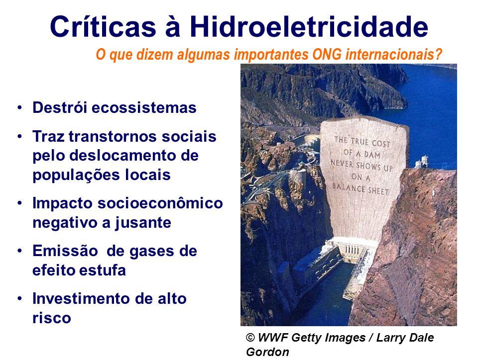 Críticas à Hidroeletricidade