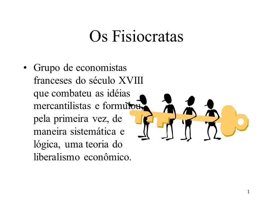 Os Fisiocratas