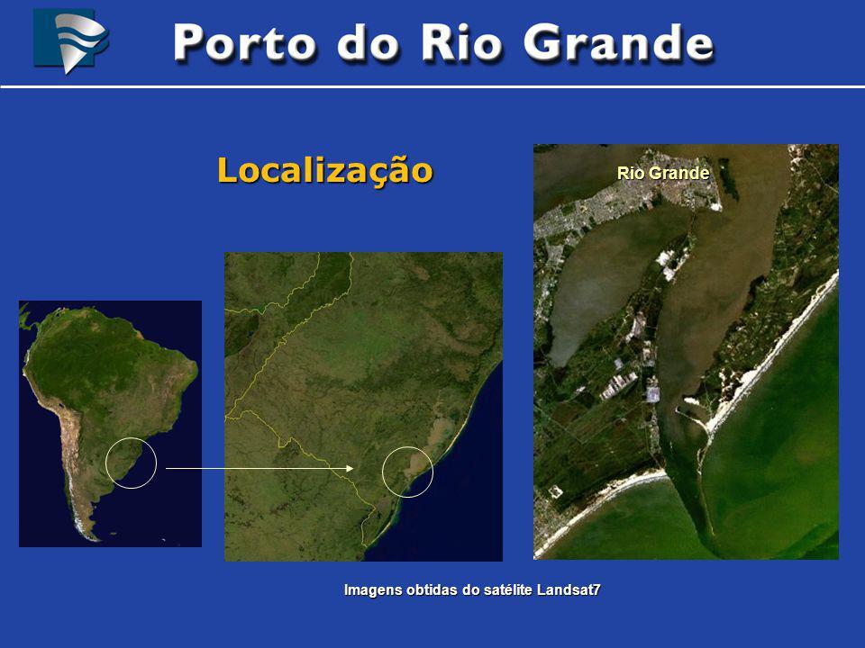 Imagens obtidas do satélite Landsat7