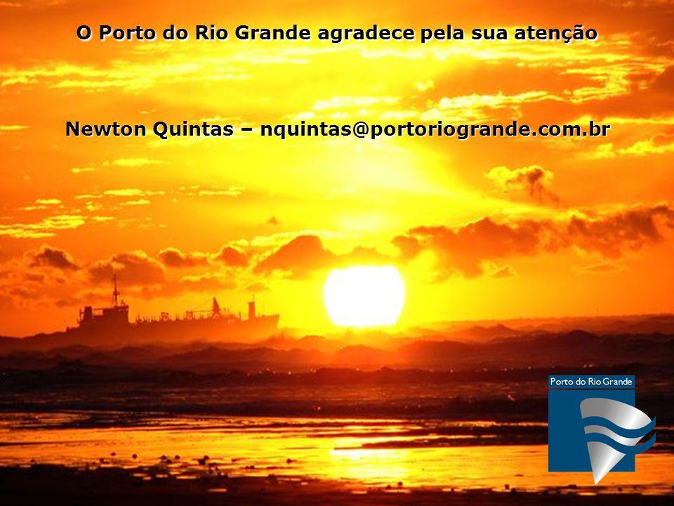 O Porto do Rio Grande agradece pela sua atenção