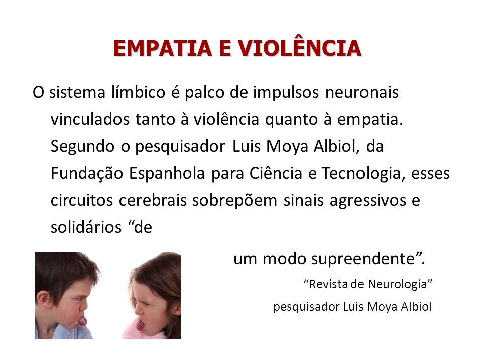 EMPATIA E VIOLÊNCIA