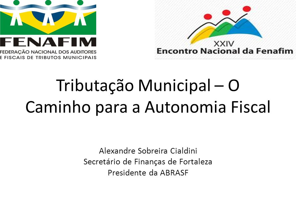 Tributação Municipal – O Caminho para a Autonomia Fiscal