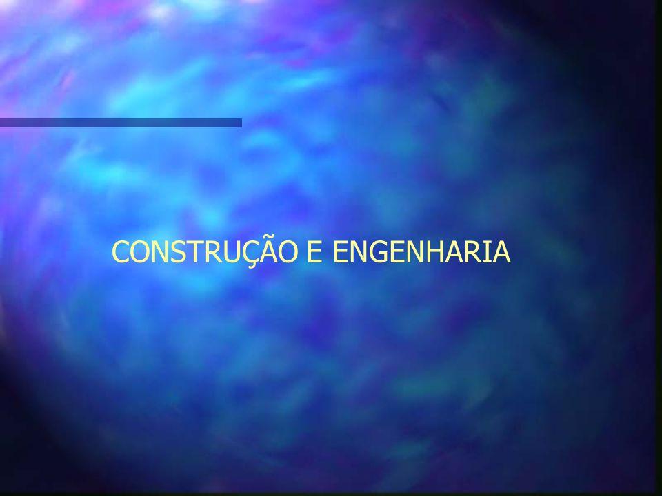CONSTRUÇÃO E ENGENHARIA