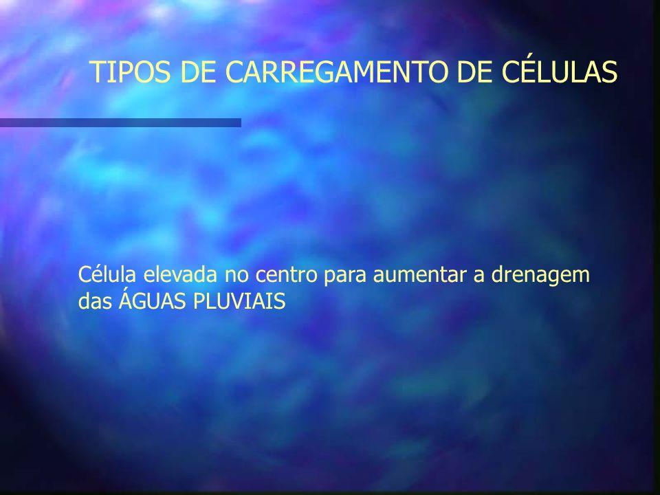 TIPOS DE CARREGAMENTO DE CÉLULAS