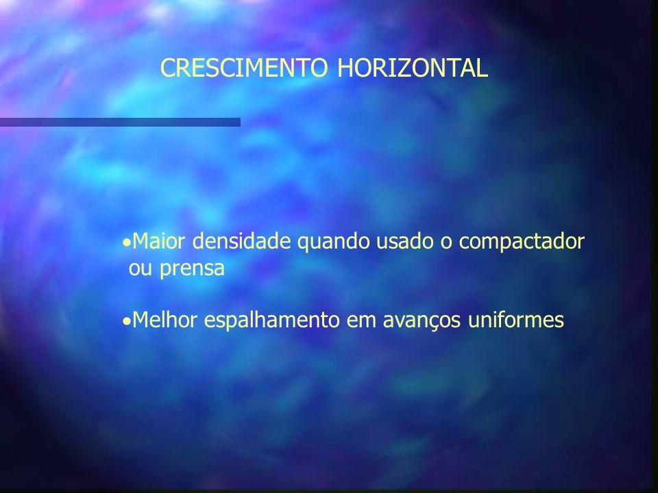 CRESCIMENTO HORIZONTAL