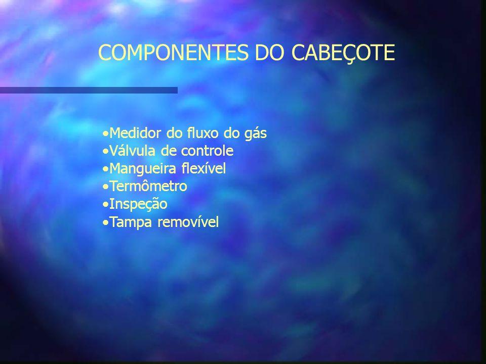 COMPONENTES DO CABEÇOTE