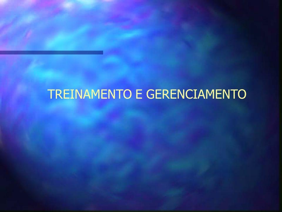 TREINAMENTO E GERENCIAMENTO