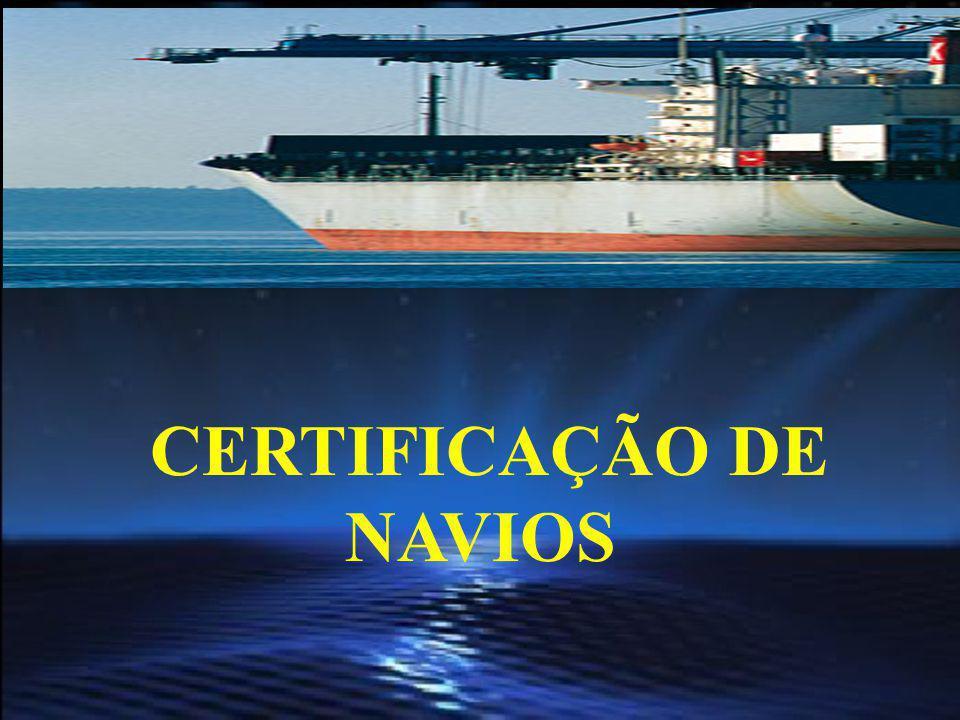CERTIFICAÇÃO DE NAVIOS