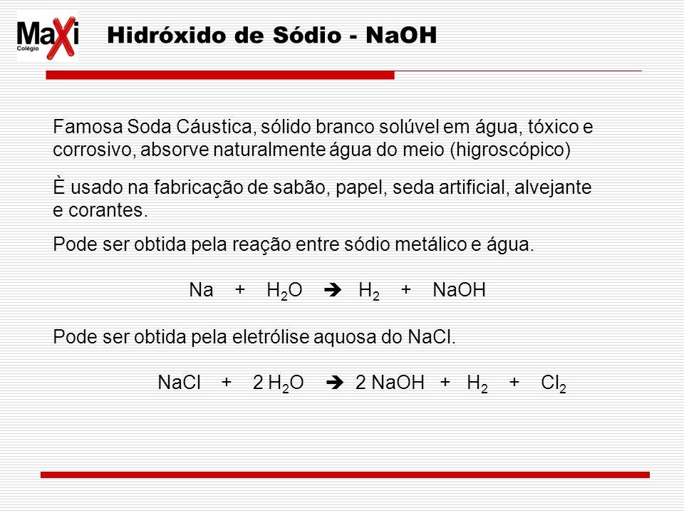 Hidróxido de Sódio - NaOH