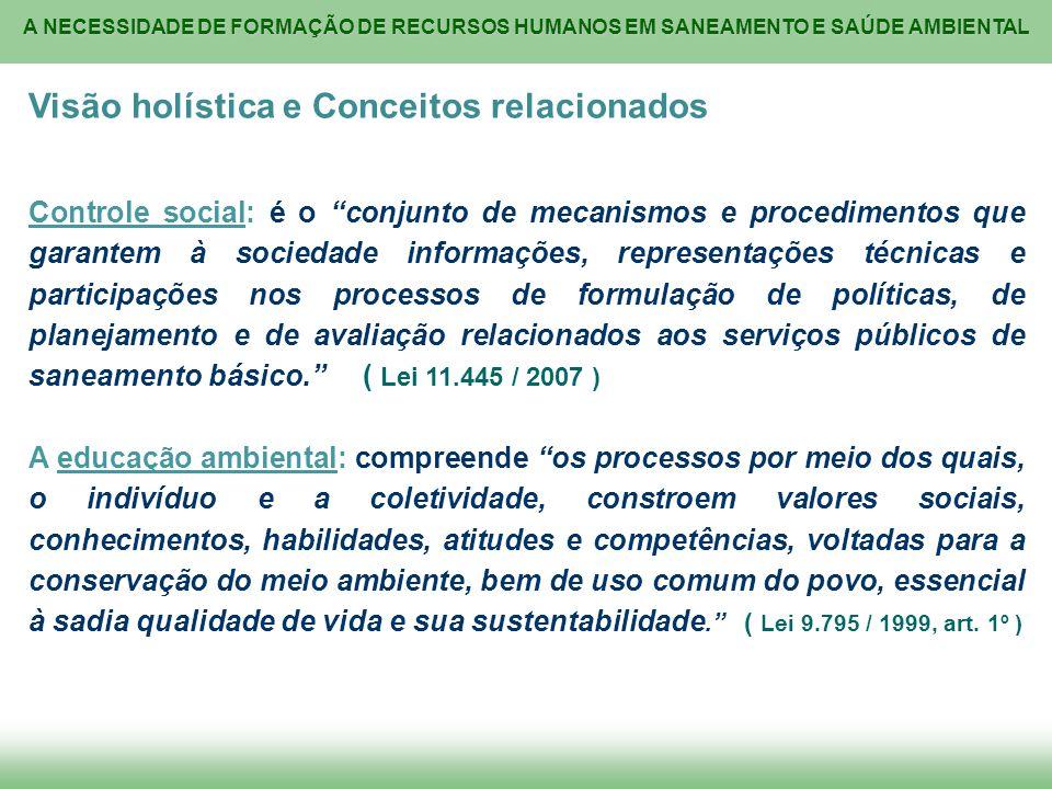 Visão holística e Conceitos relacionados