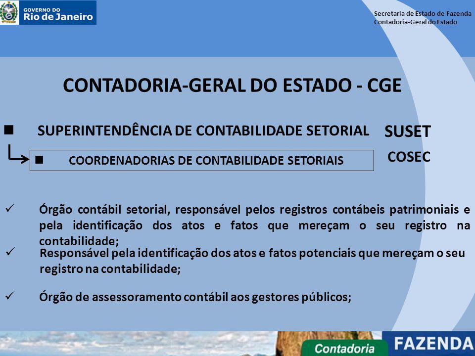 CONTADORIA-GERAL DO ESTADO - CGE