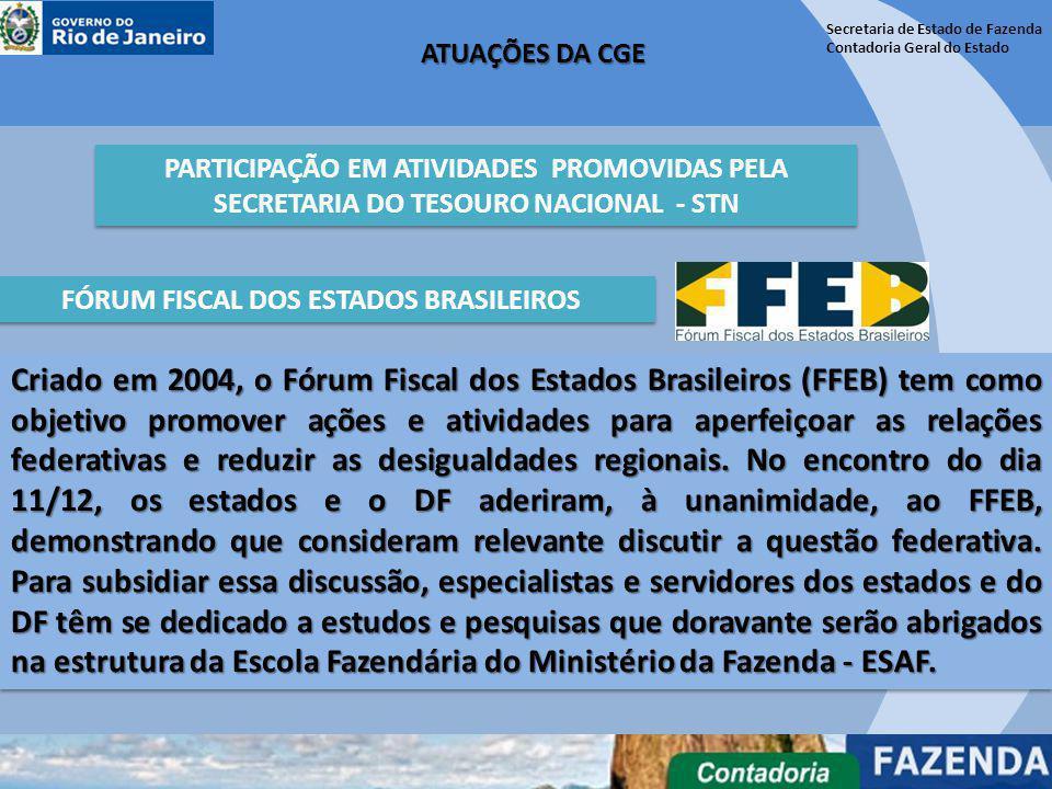 FÓRUM FISCAL DOS ESTADOS BRASILEIROS
