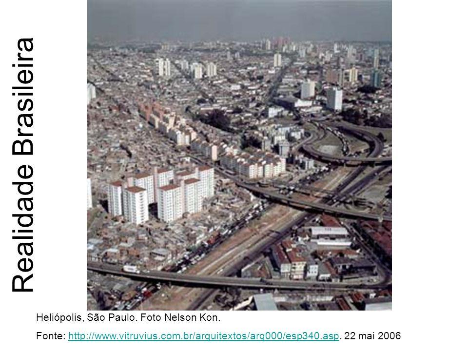Realidade Brasileira Heliópolis, São Paulo. Foto Nelson Kon.
