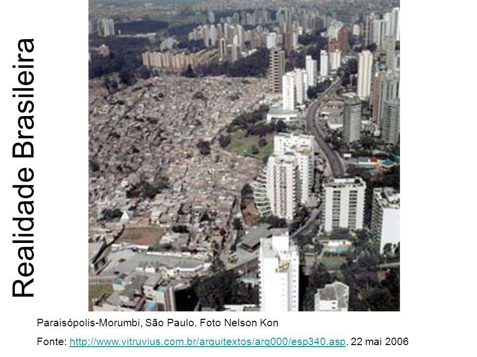 Realidade Brasileira Paraisópolis-Morumbi, São Paulo. Foto Nelson Kon