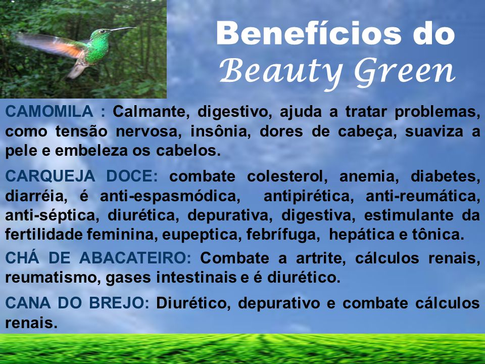 Benefícios do Beauty Green