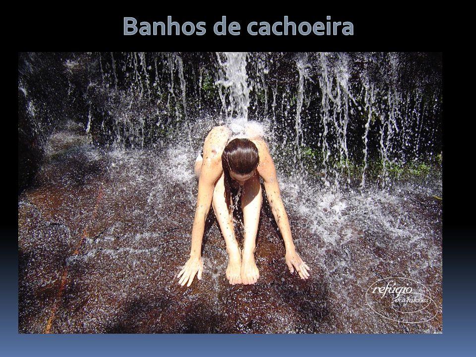 Banhos de cachoeira APL DA SERRA