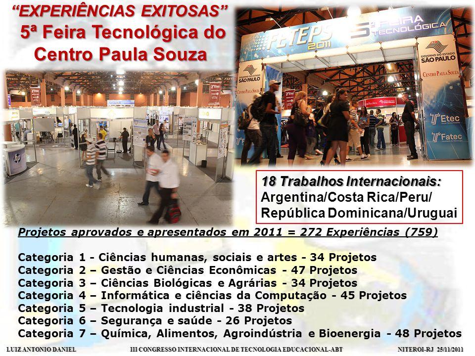 5ª Feira Tecnológica do Centro Paula Souza