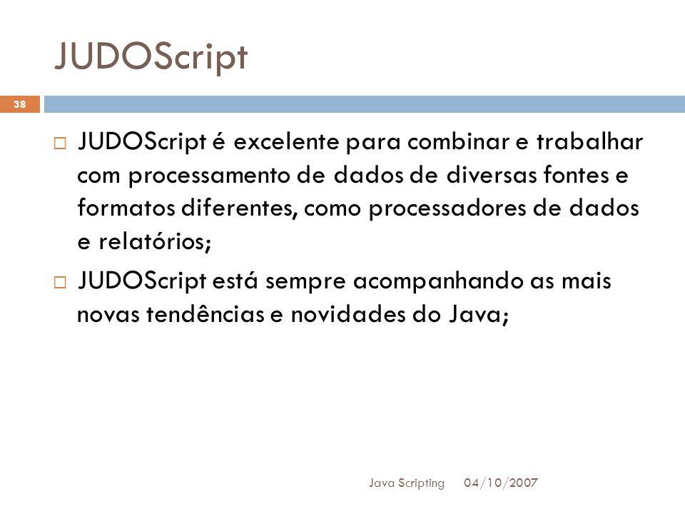 JUDOScript
