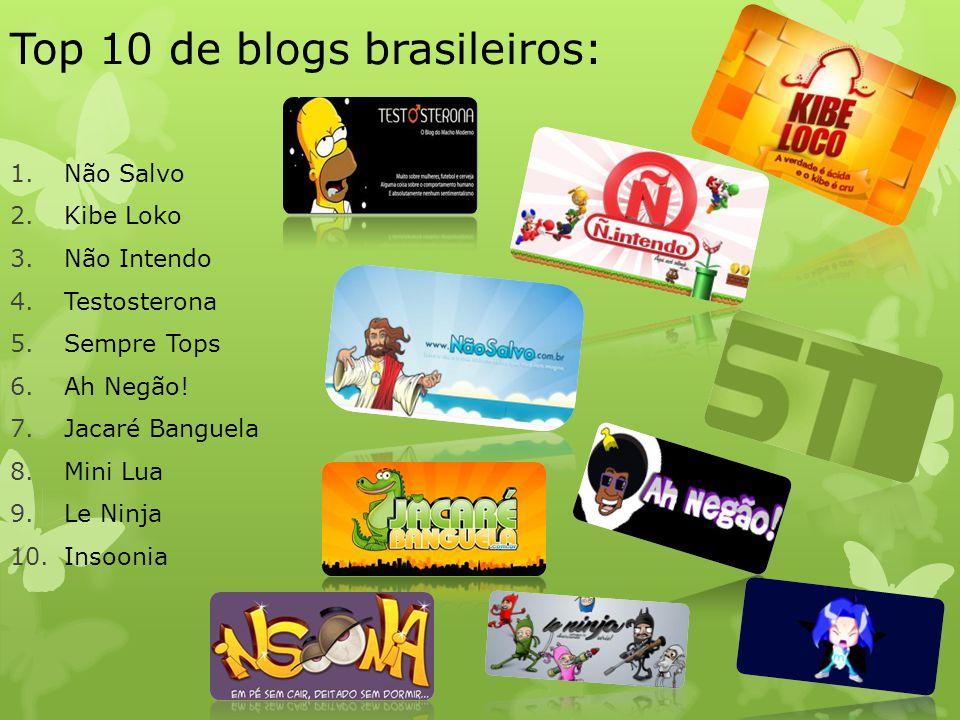 Top 10 de blogs brasileiros: