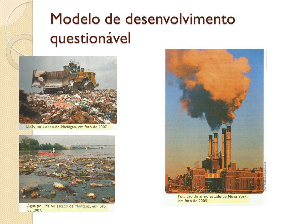 Modelo de desenvolvimento questionável