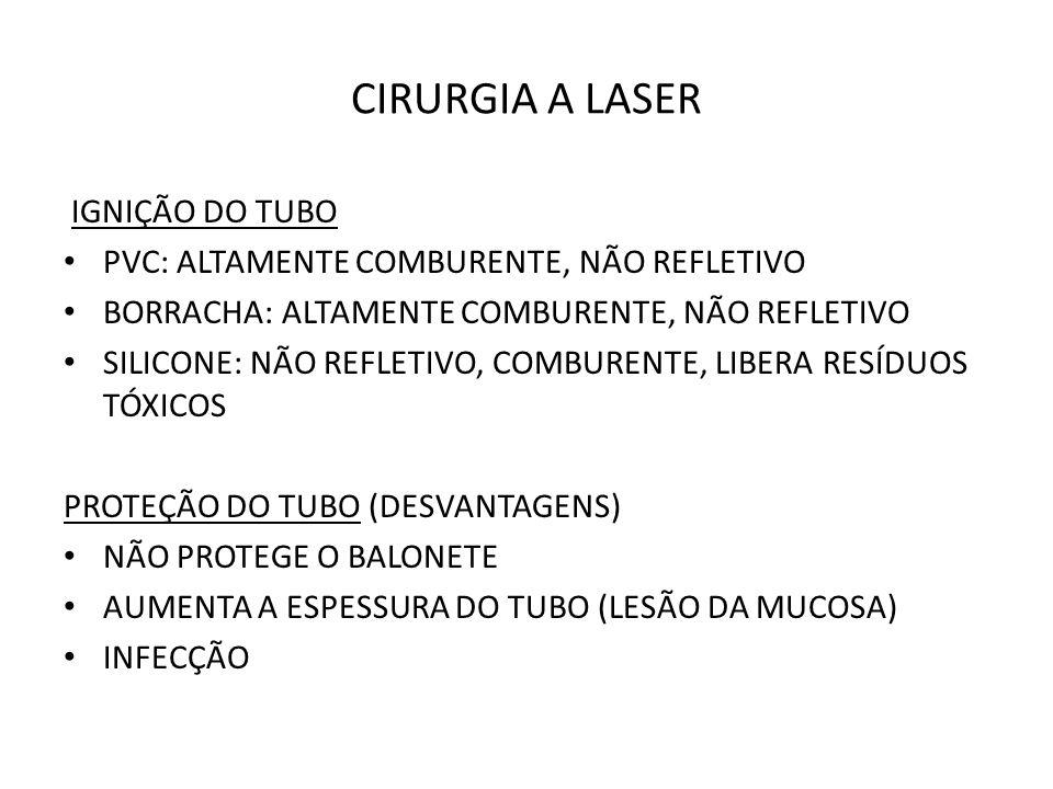 CIRURGIA A LASER IGNIÇÃO DO TUBO