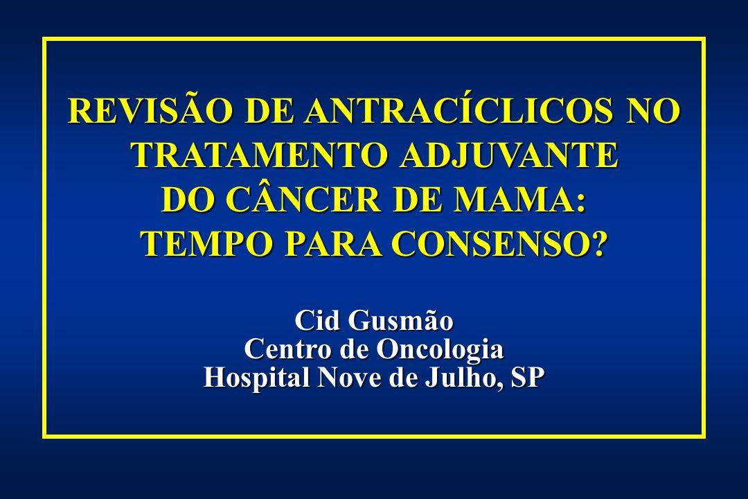 REVISÃO DE ANTRACÍCLICOS NO Hospital Nove de Julho, SP