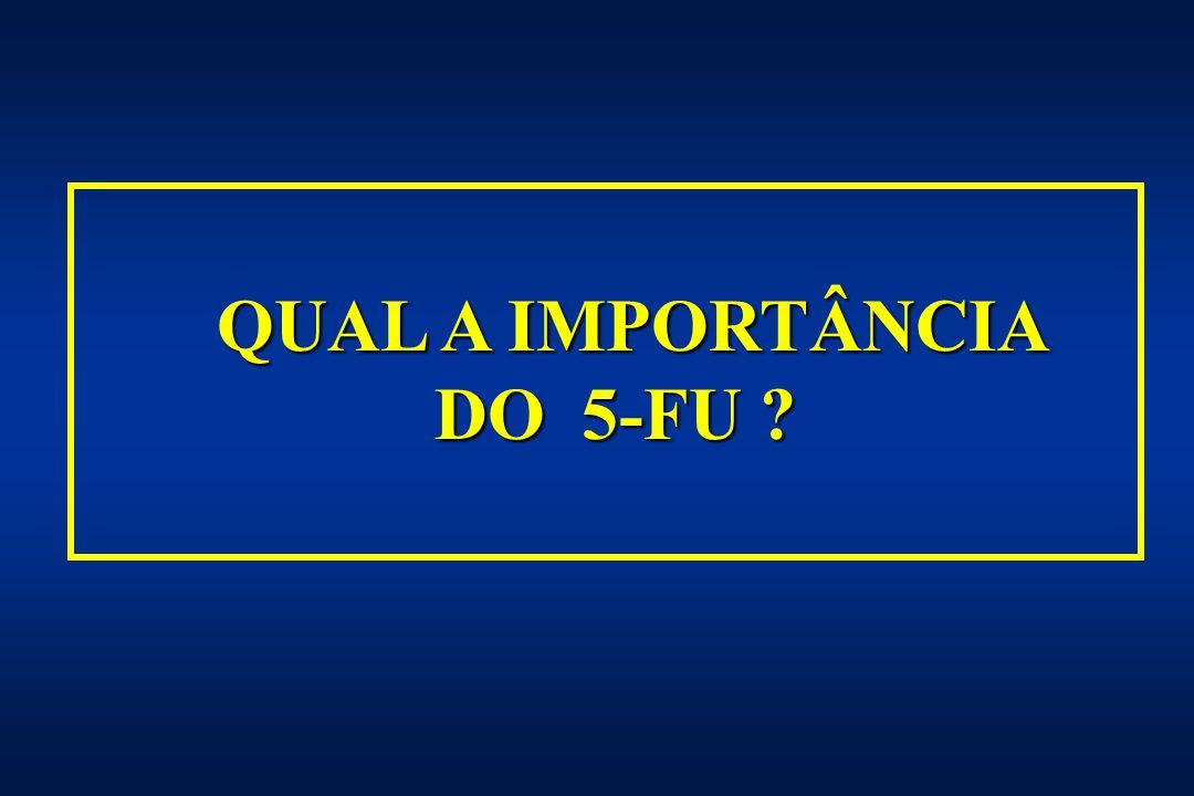 QUAL A IMPORTÂNCIA DO 5-FU