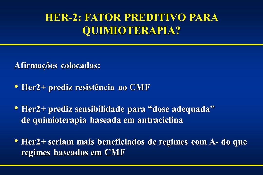 HER-2: FATOR PREDITIVO PARA QUIMIOTERAPIA