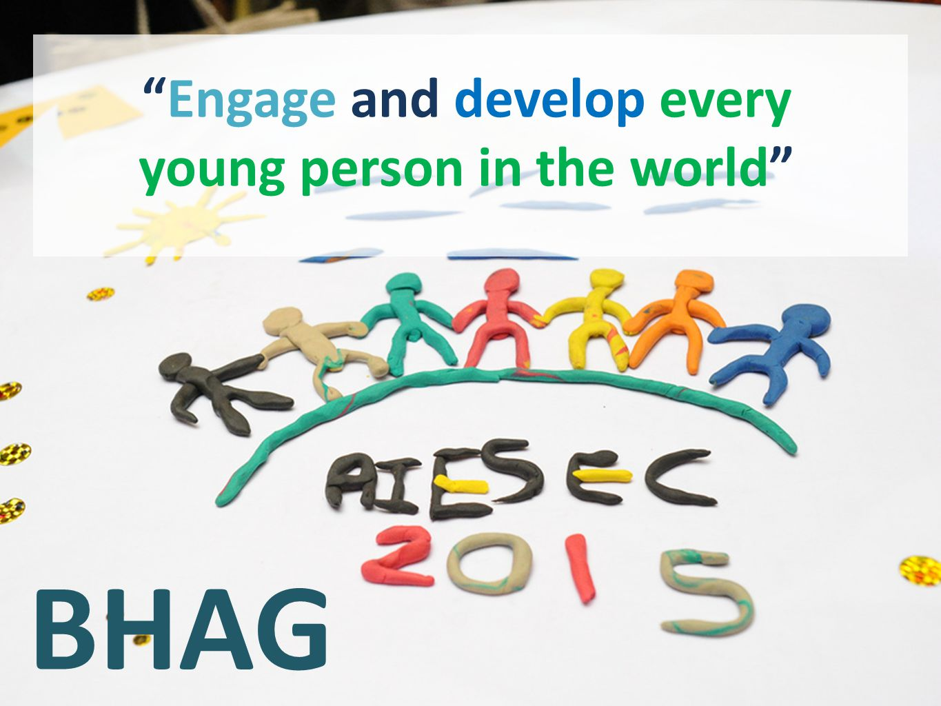 Engage and develop every young person in the world