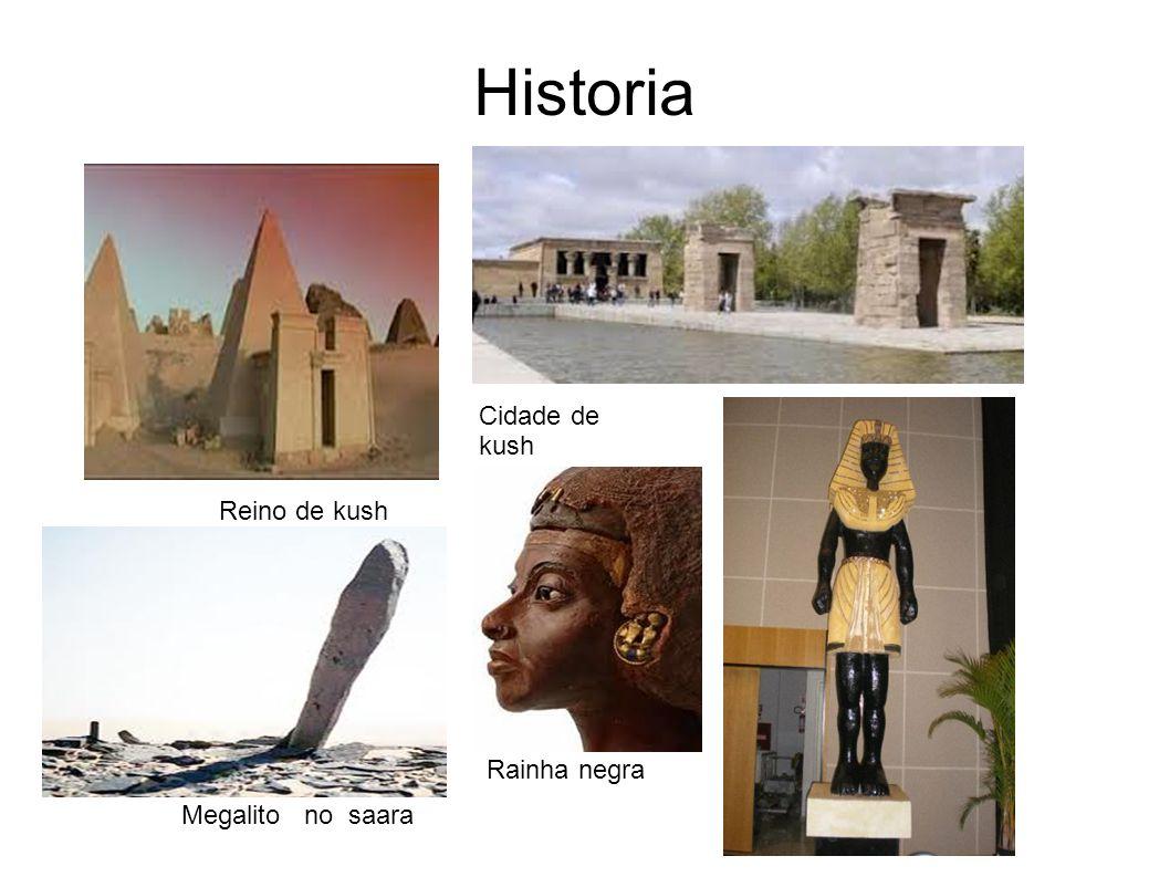 Historia Cidade de kush Reino de kush Rainha negra Megalito no saara