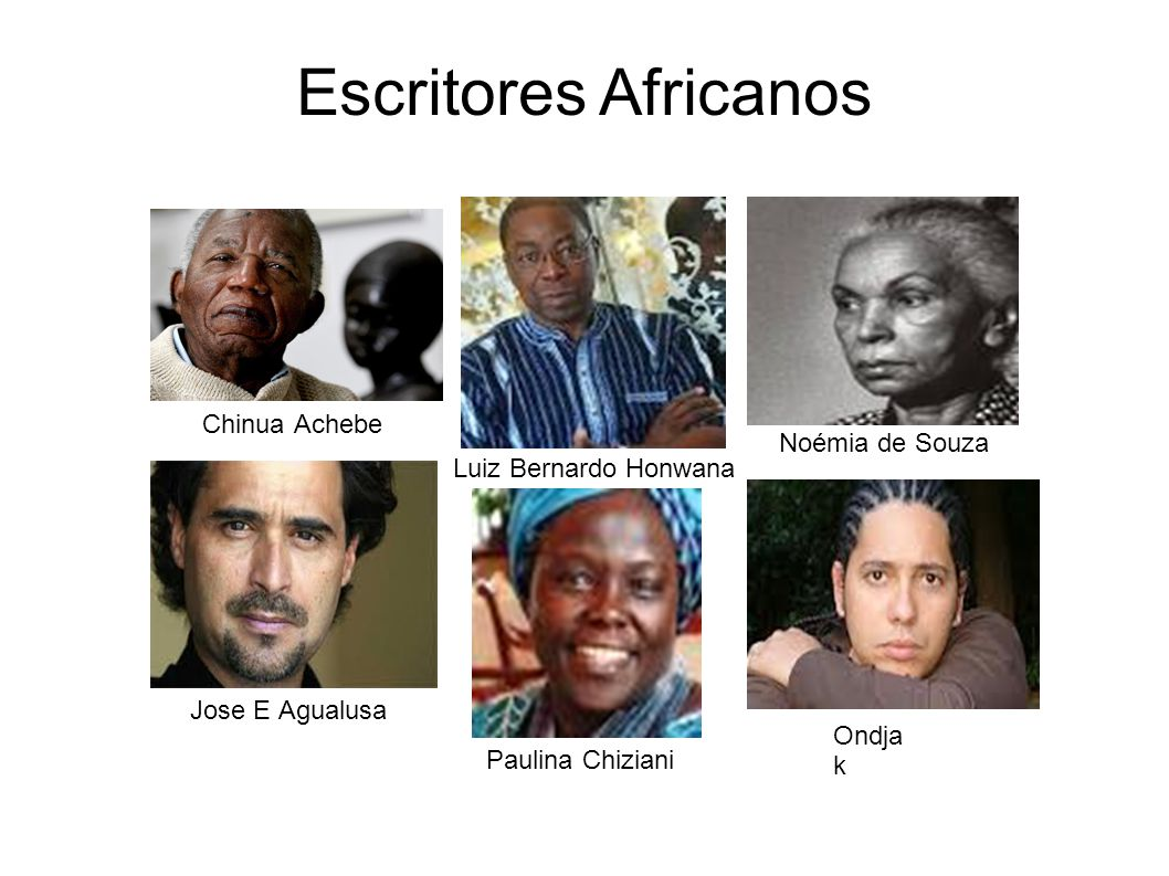 Escritores Africanos Chinua Achebe Noémia de Souza