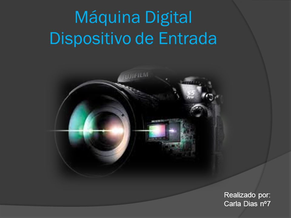 Máquina Digital Dispositivo de Entrada