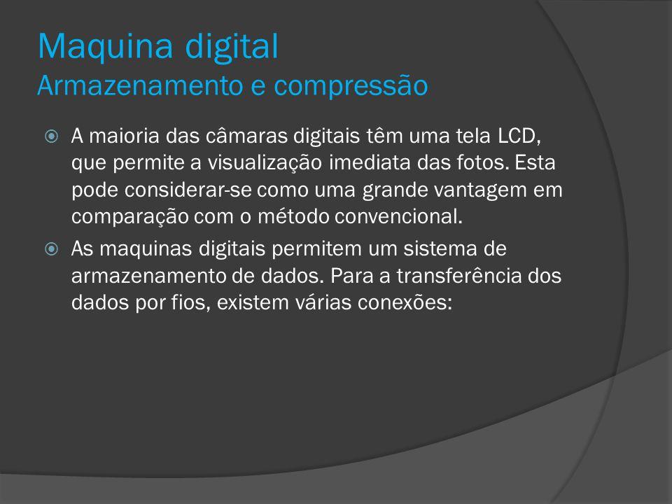 Maquina digital Armazenamento e compressão