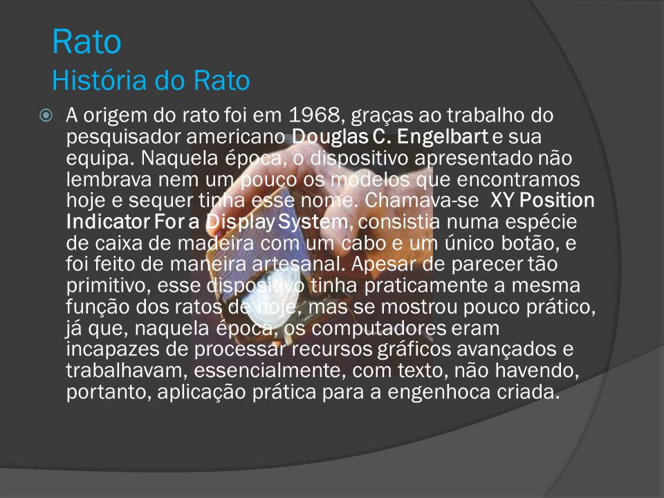 Rato História do Rato.