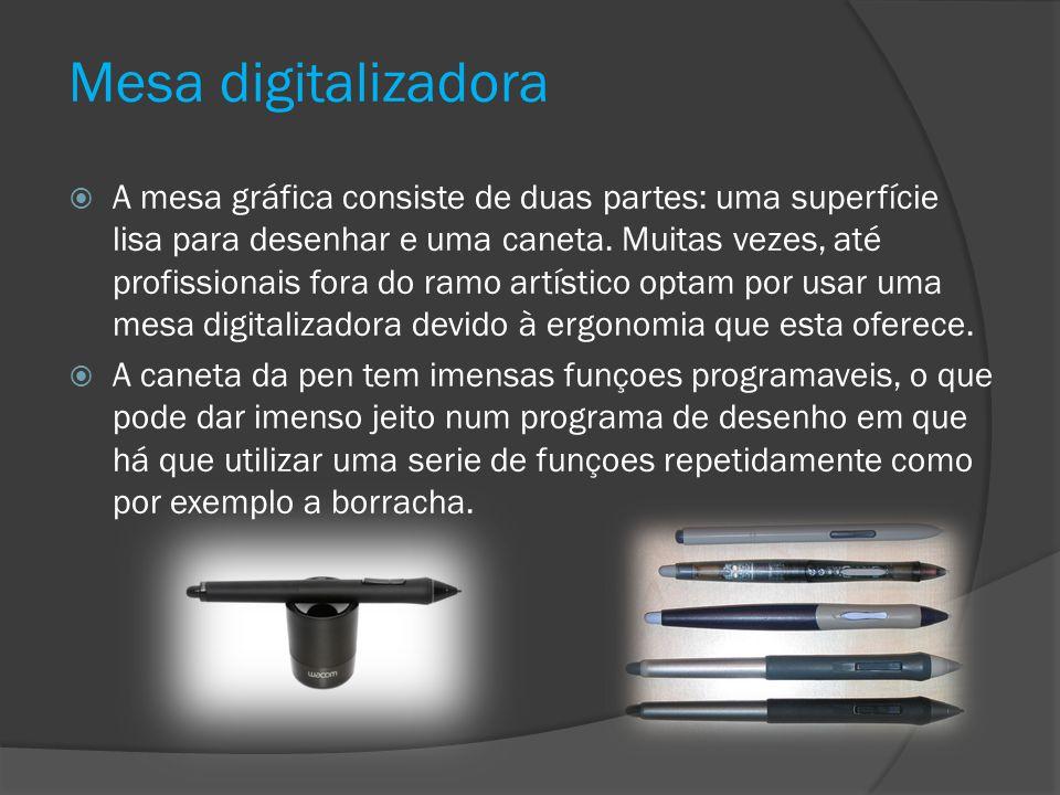 Mesa digitalizadora